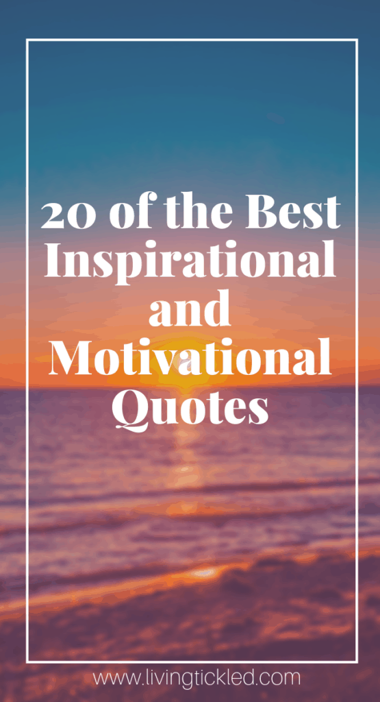 20 motivational quotes