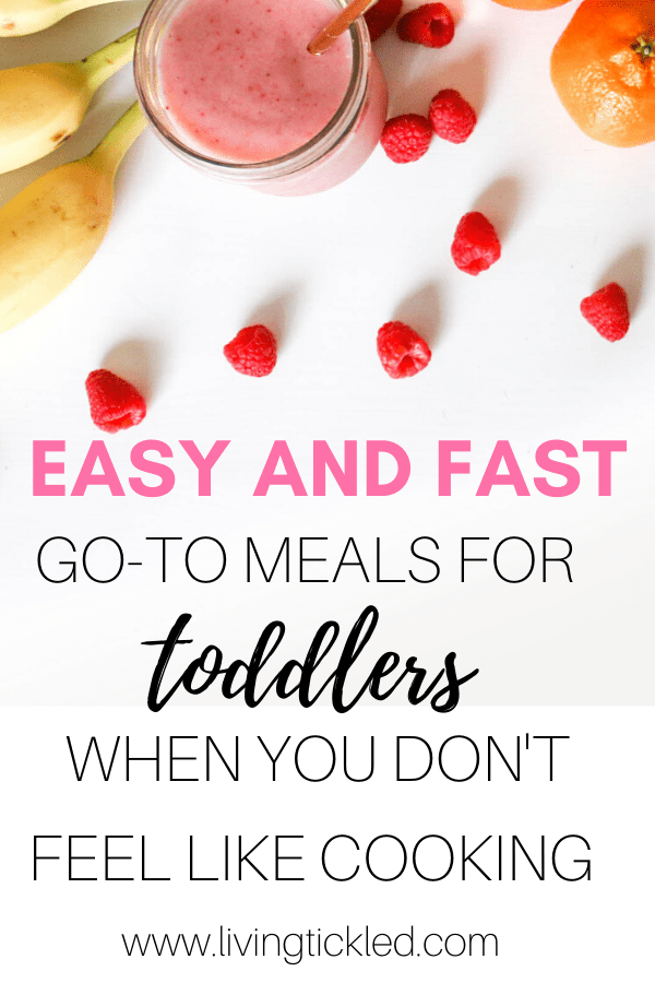 Easy and Fast toddler meals-min