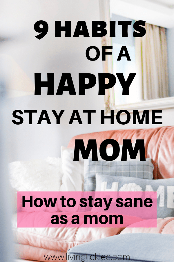 Stay at home mom habits-min