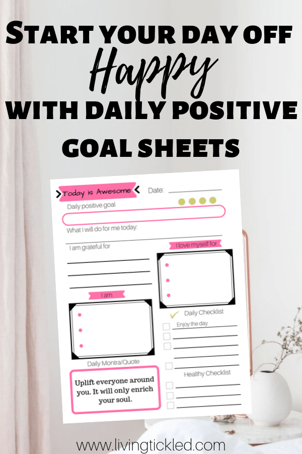 Goal Sheets to start your day off Happy!-min