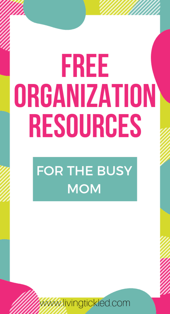FREE ORGANIZATION RESOURCES