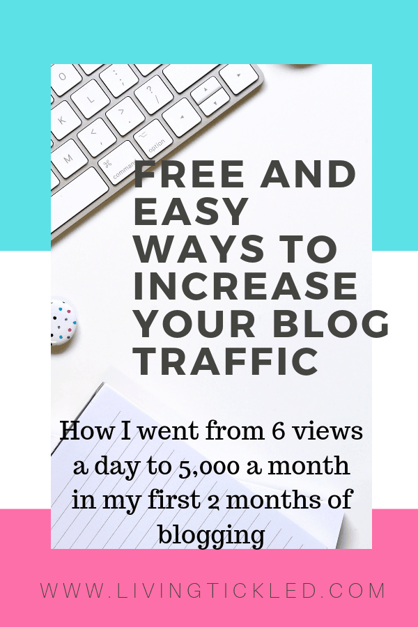 FREE and Easy ways to increase your blog traffic-min
