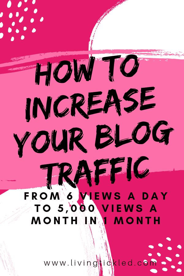 How to increase your blog traffic-min