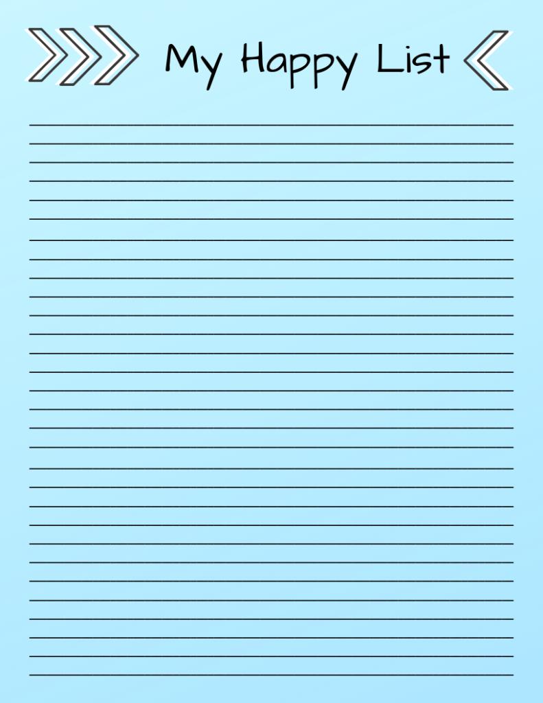 My Happy List (1)